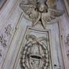 Sant'Ivo alla Sapienza, dekoracja kopuły, serafiny i cherubiny wraz z gwiazdami rodu Chigi
