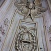 Church of Sant'Ivo alla Sapienza, decoration of the dome, seraphs and cherubs along with the stars of the Chigi family