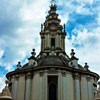 Church of Sant'Ivo alla Sapienza, dome with a roof lantern
