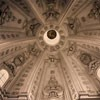 Church of Sant'Ivo alla Sapienza, view of the dome, Francesco Borromini