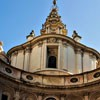 Church of Sant'Ivo alla Sapienza, view of the church dome