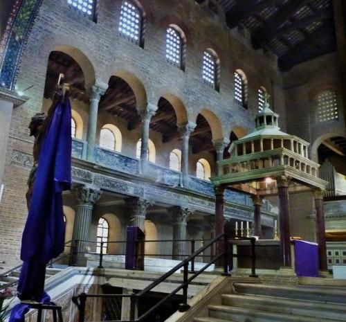 San Lorenzo fuori le mura, część kościoła z VI w.