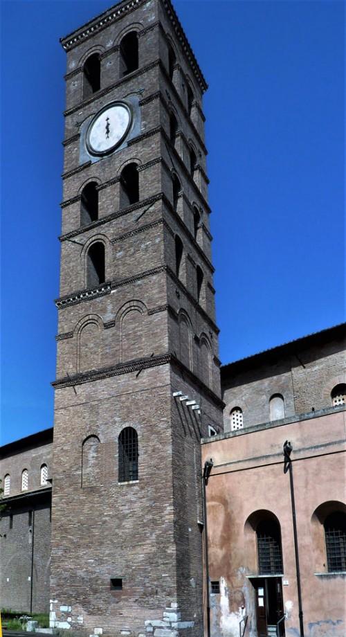 San Lorenzo fuori le mura, dzwonnica