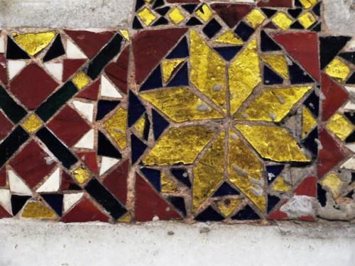 San Lorenzo fuori le mura, fragment dekoracji mozaikowej warsztatu Vassallettich