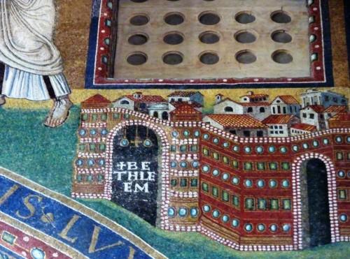 San Lorenzo fuori le mura, mozaika z czasów papieża Pelagiusza II, fragment