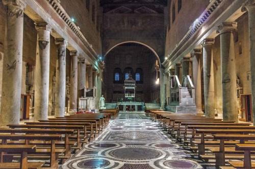 San Lorenzo fuori le mura, nawa dobudowana w XIII w. przez papieża Honoriusza III