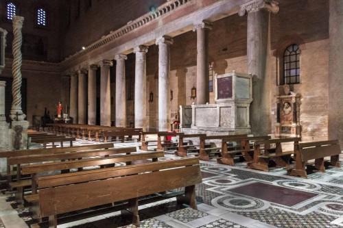 San Lorenzo fuori le mura, nawa z czasów Honoriusza III