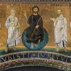 San Lorenzo fuori le mura, mozaika z czasów papieża Pelagiusza II