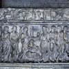 San Lorenzo fuori le mura, sarkofag antyczny - grobowiec kardynała Guglielmo Fieschiego