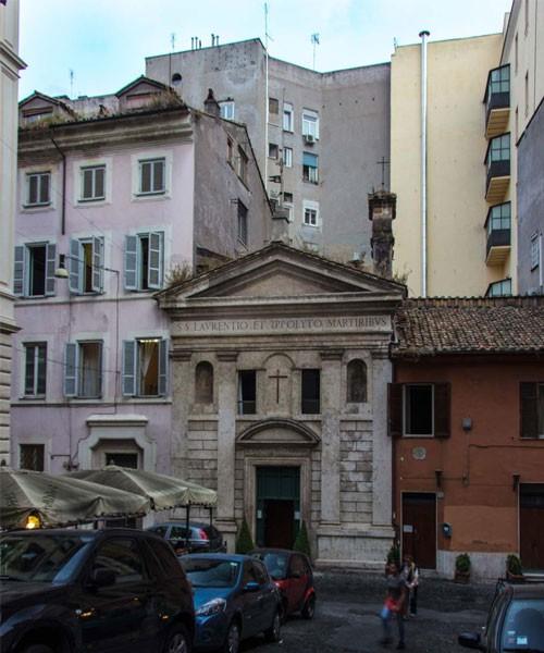 San Lorenzo in Fonte (Santi Lorenzo e Ippolito), via Urbana