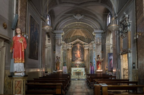Church of San Lorenzo in Fonte (Santi Lorenzo e Ippolito), church interior