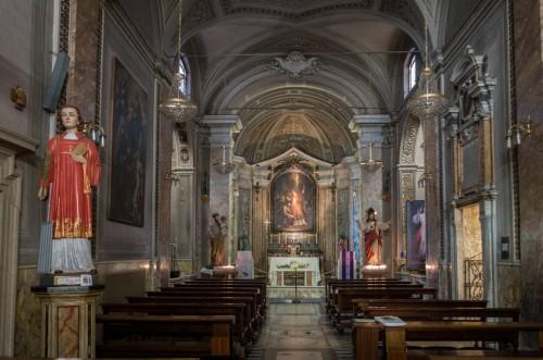 Wnętrze kościoła San Lorenzo in Fonte