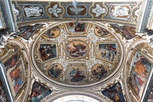 Kościół San Lorenzo in Lucina, sklepienie kaplicy św. Franciszka i św. Hiacynty Marescotti