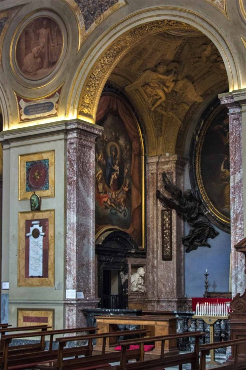 San Lorenzo in Lucina, kaplica rodu Fonesca