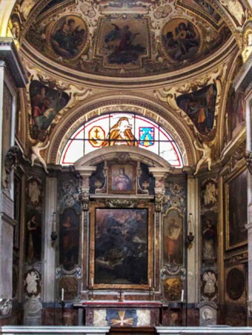 Basilica of San Lorenzo in Lucina, Chapel of St. Francis and St. Hyacintha Marescotti