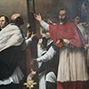 Basilica of San Lorenzo in Lucina, Charles Borromeo in Procession with a Nail of the Cross, Carlo Saraceni