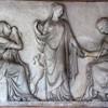 San Lorenzo in Lucina, płyta nagrobna Clelili Severini, Pietro Tenerani