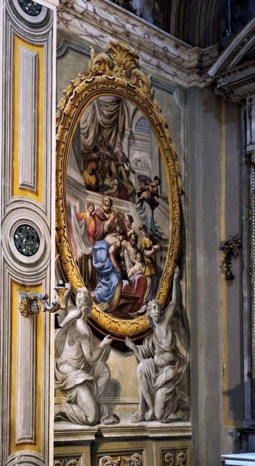 Church of San Lorenzo in Miranda, frescoes showing the life of the Virgin Mary, unknown painter, mid-XVIII century