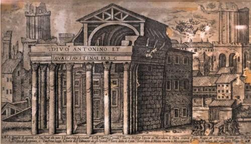 Church of San Lorenzo in Miranda, XVII w., XVII century, copy from the Museum of Pharmacy at the Nobile Collegio Chimico Farmaceutico Universitas Aromatoariorum Urbis