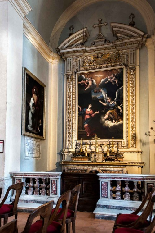 Church of San Lorenzo in Miranda, The Annunciation, Alessandro Fortuna