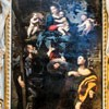 Church of San Lorenzo in Miranda, Our Lady with SS. Philip and James, Domenichino (painting in bad condition after conservation)
