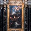 San Lorenzo in Miranda, Męczeństwo św. Wawrzyńca, Pietro da Cortona, ołtarz główny