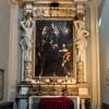 San Lorenzo in Miranda, ołtarz boczny, Madonna ze śś. Filipem i Jakubem, Domenichino