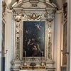 Church of San Lorenzo in Miranda, side altar with the painting The Martyrdom of St. John the Baptist