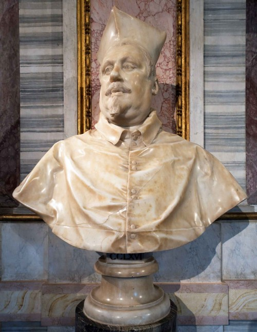 Gian Lorenzo Bernini, popiersie kardynała Scipione Borghese, Galleria Borghese