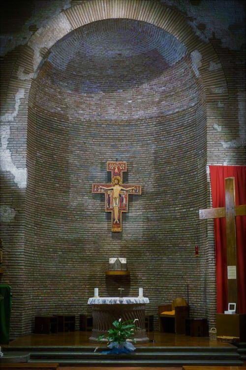 Church of San Lorenzo in Piscibus, church apse