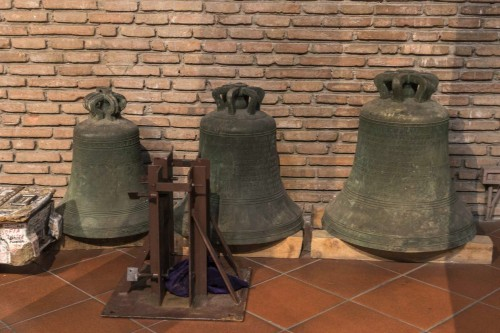 Church of San Lorenzo in Piscibus, bells from the structure taken down in the 30's of the XX century