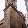 San Lorenzo in Piscibus, fasada kościoła