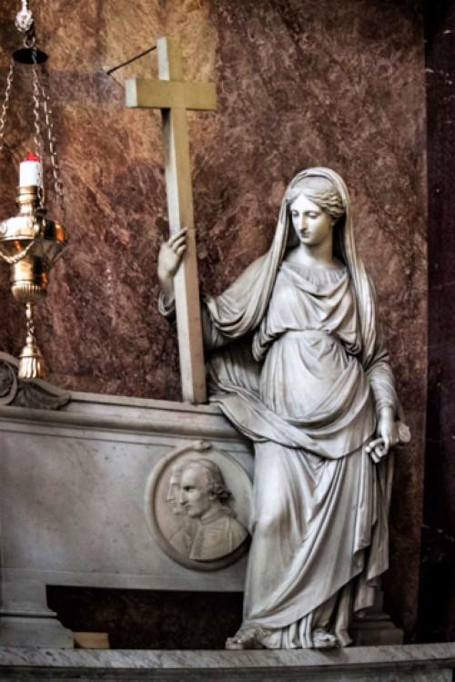 San Marcello, kaplica Krzyża, klasycystyczny pomnik nagrobny z 1831 r.