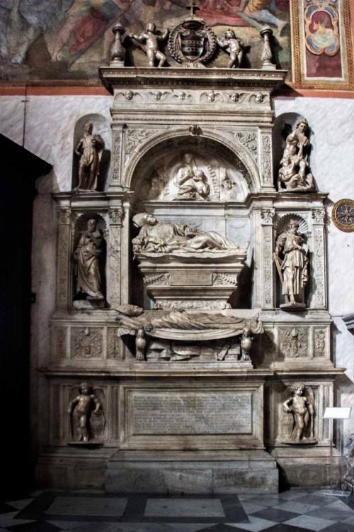 Church of San Marcello, tombstone of Giovanni Michiel and Antonio Orso, Jacopo Sansovino