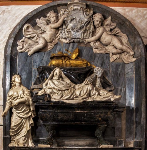 Church of San Marcello, funerary monument of Cardinal Francesco Cennini