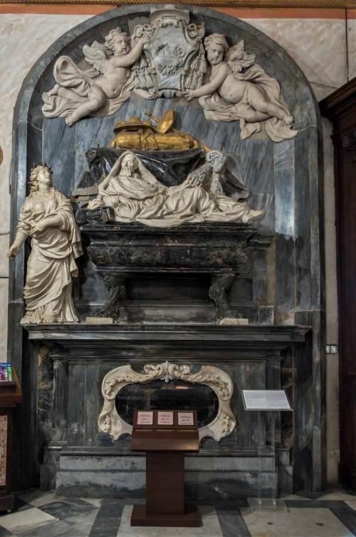 San Marcello, pomnik nagrobny kardynała Francesco Cenniniego, Giovanni Francesco dei Rossi