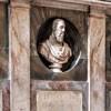 San Marcello, kaplica rodu Frangipane, popiersia przedstawicieli rodu