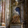 San Marcello, kaplica rodu Muti, nagrobek Marii Colomby Vicentini
