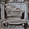 Church of San Marcello, tombstone of Cardinal Giovanni Michiel, fragment