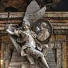 San Marcello, pomnik nagrobny kardynała Fabrizio Paolucciego, Pietro Bracci, fragment