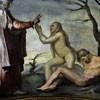 San Marcello, Stworzenie Ewy, fresk Daniele da Volterra, kaplica Krzyża