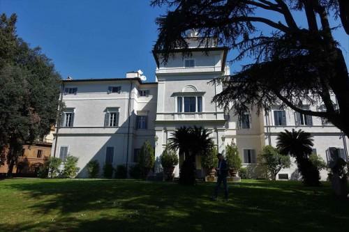 Casino Ludovisi, fasada ogrodowa