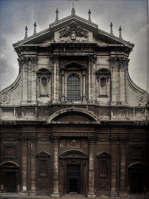 Façade of the Church of Sant'Ignazio