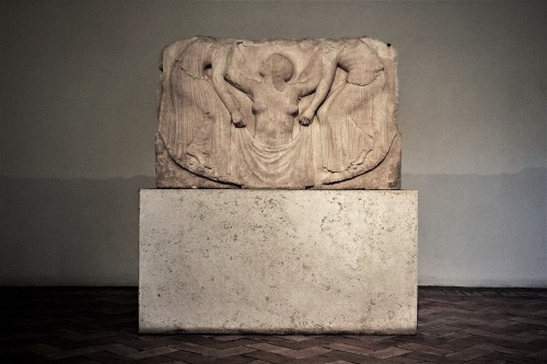 Wenus Ludovisi, najsławniejsza płaskorzeźba ze zbiorów kardynała Ludovisiego, Museo Nazionale Romano, Palazzo Altemps