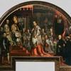 Kardynał Ludovico Ludovisi w trakcie kanonizacji Ignacego Loyoli i Franciszka Ksawerego, zakrystia kościoła Il Gesù