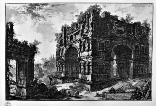 Arch of Janus, Piranesi's  engraving, pic. Wikipedia