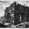 Łuk Janusa, rycina Piranesiego, XVIII w., zdj. Wikipedia