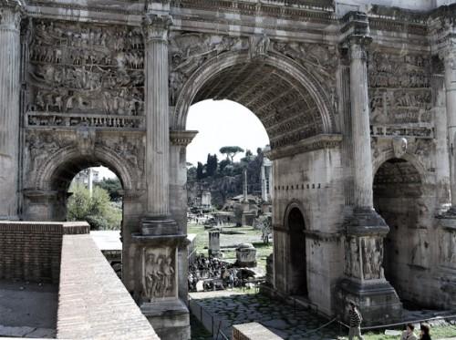 Łuk triumfalny cesarza Septymiusza Sewera