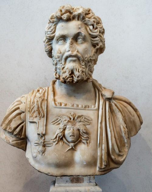 Popiersie cesarza Septymiusza Sewera, Museo Nazionale Romano - Palazzo Massimo