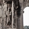 Triumphant arch of Emperor Septimius Severus, base with a representation of a slave